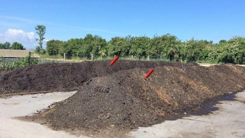 EUSATEC Temperatur-Überwachung für Kompost Dreiecksmieten