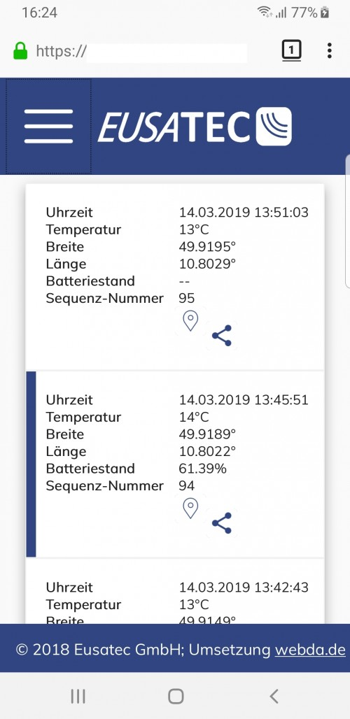 EUSATEC IoT App 3