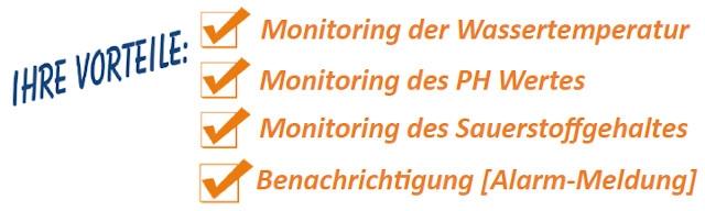 Wasser-Monitoring Keyfacts
